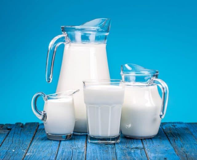 Pots de lait