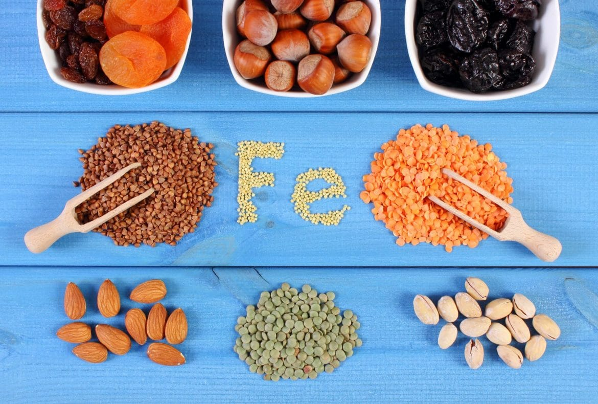 Aliments riches en vitamines fer