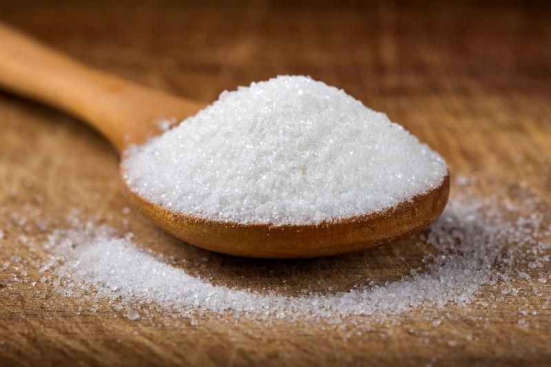 Cuillère remplie de fructose