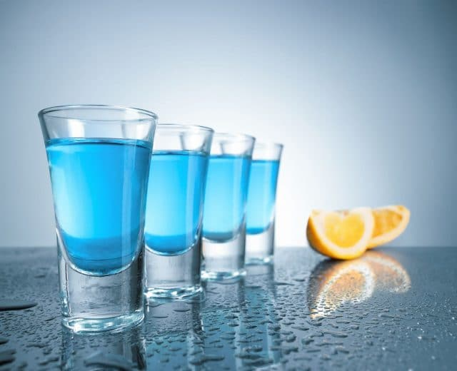 verre de vodka