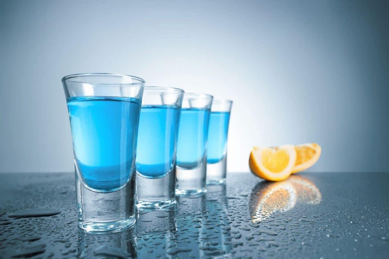 verre de vodka