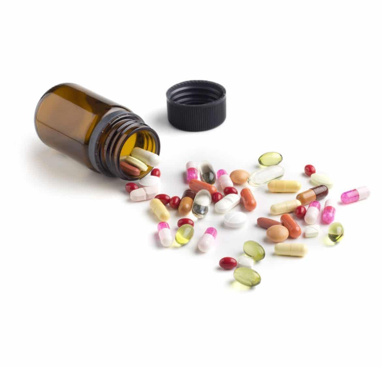 Compléments alimentaires de vitamines