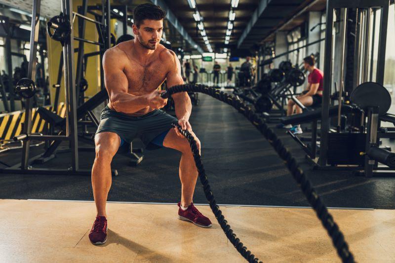Dépense d'énergie lors d'une séance de musculation