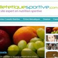 page accueil dietetiquesportive