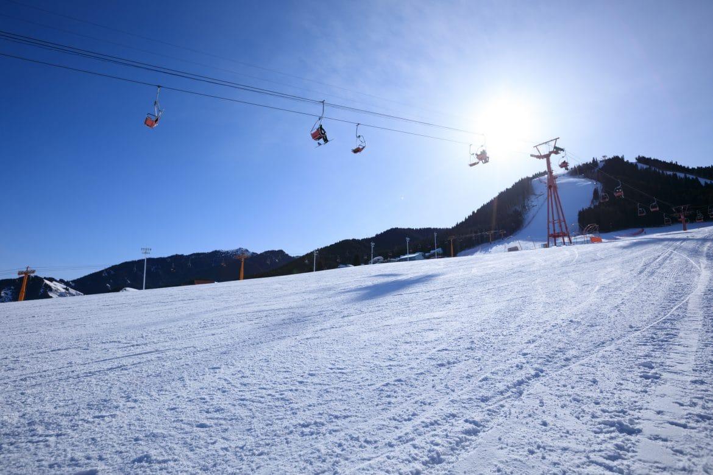 Téléphérique d'une station de ski alpin