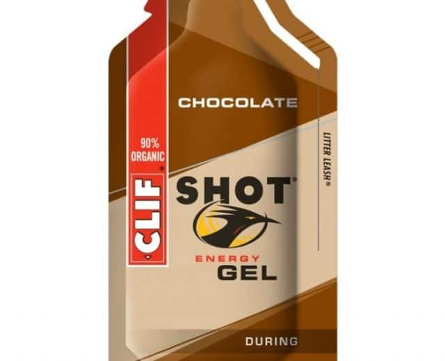gel énergétique au chocolat