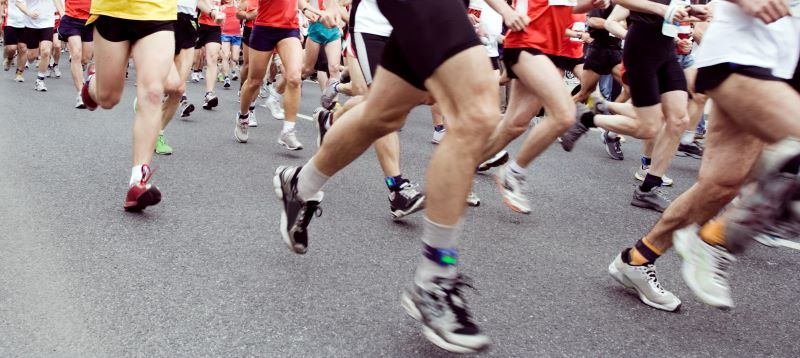 Compétition de semi-marathon