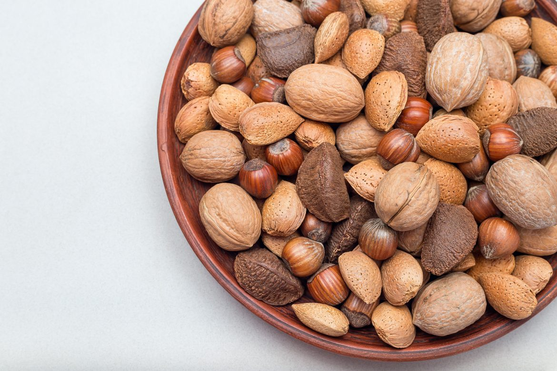 Assiette de noix