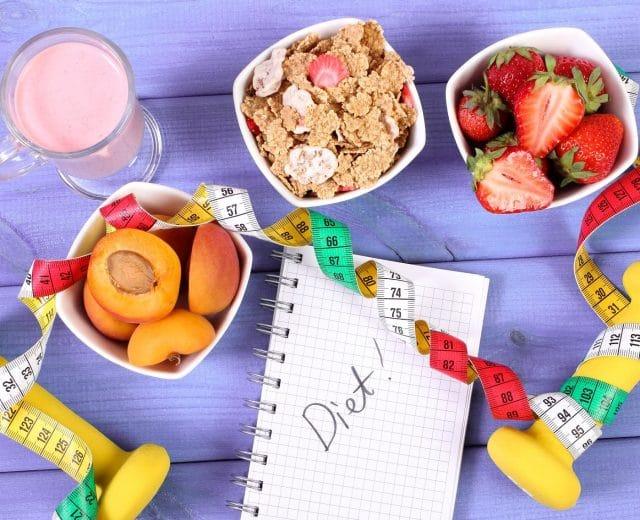 Menu pour régime de perte de poids