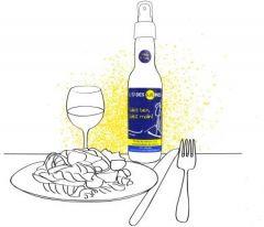 sel liquide en bouteille spray