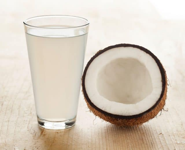 verre eau de coco