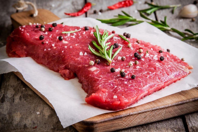 Viande rouge riche en fer