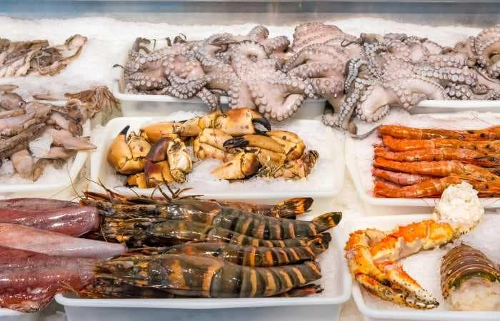 Crustacés riches en vitamine B12