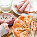 Alimentation riche en protéines animales